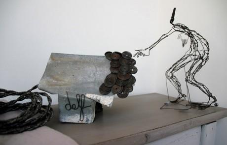 "lampe-sculpture-delf_""Tatonnement"""