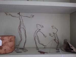 sculpture fil de fer Delf