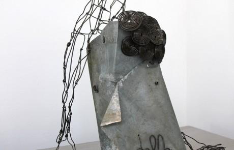 """lampe-sculpture-delf """"Regarde"""""""
